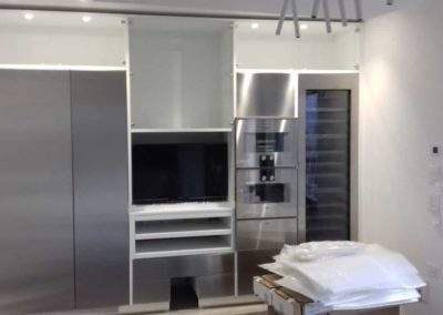 cucina in costruzione