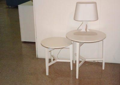 Tavolini Symbol e lampada Calligaris